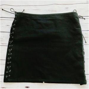 Ralph Ralph Lauren cotton skirt with side lacing